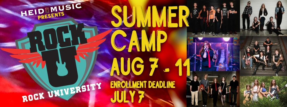 Rock and roll summer camp