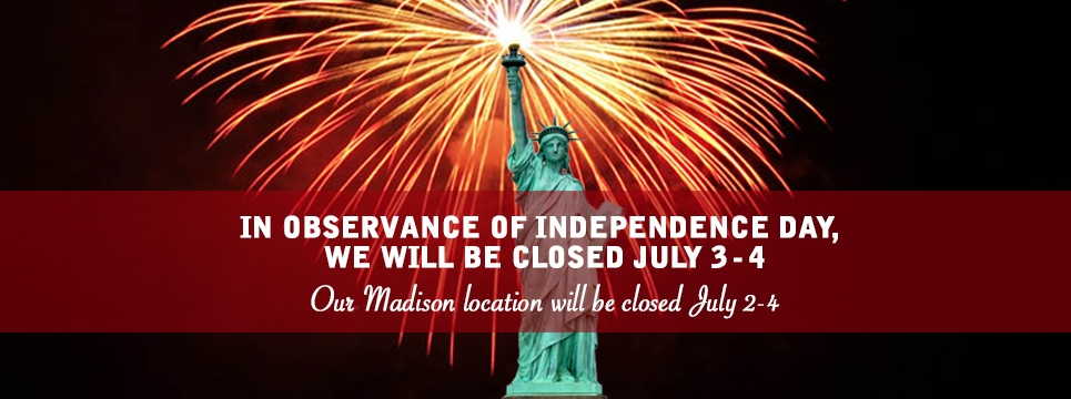 hours for the 4th of July