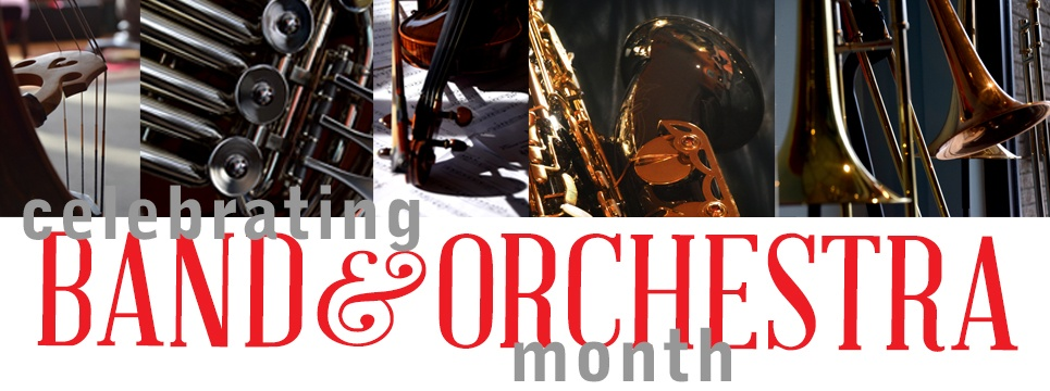 band and orchestra specials and events
