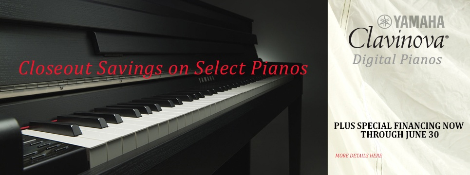 piano closeout sales and special financing