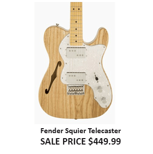 Fender Squier Telecaster Vintage Modified 72 Thinline