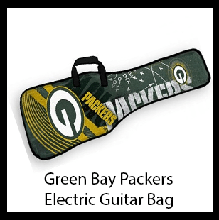 Green Bay Packers Electric Guitar Gig Bag