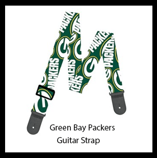 Green Bay Packers Guitar Strap