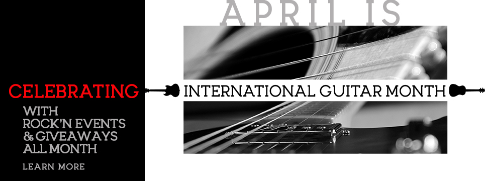 Specials and events to celebrate International Guitar Month
