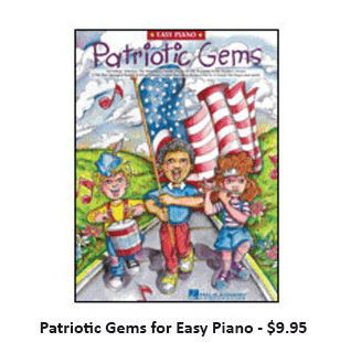 Patriotic Gems for Easy Piano