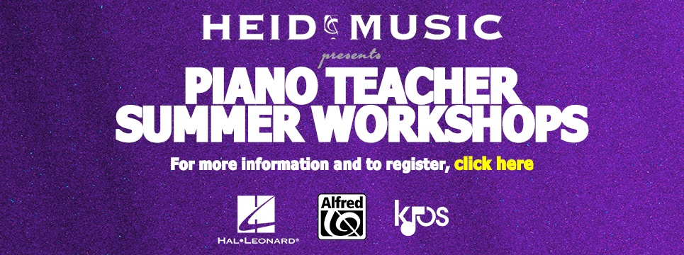 Piano Teacher Workshop Banner