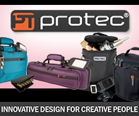 ProTec cases for flute, clarinet, trumpet, and more
