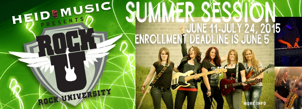 rock university summer classes