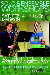 Solo and Ensemble workshop to fine tune your performance before competition