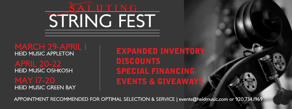 Financing, discount and give away on expanded string product inventoryct