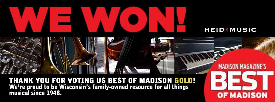 Best of Madison best retailer musical instruments madison magazine