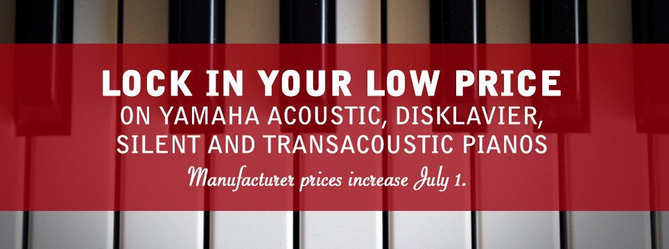 piano deals and closeout sales