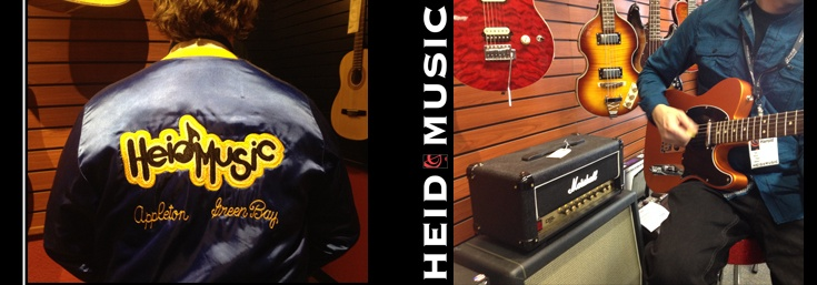 Heid Music Appleton Guitars & Drums
