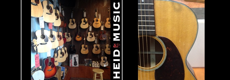 Acoustic Guitars in Green Bay Wisconsin at Heid Music & heidmusic.com
