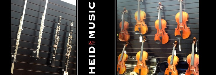 Band Instrument to Rent & Own in Green Bay, Wisconsin at Heid Music & heidmusic.com