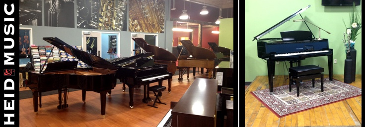 Used & New Pianos in Green Bay Wisconsin at Heid Music