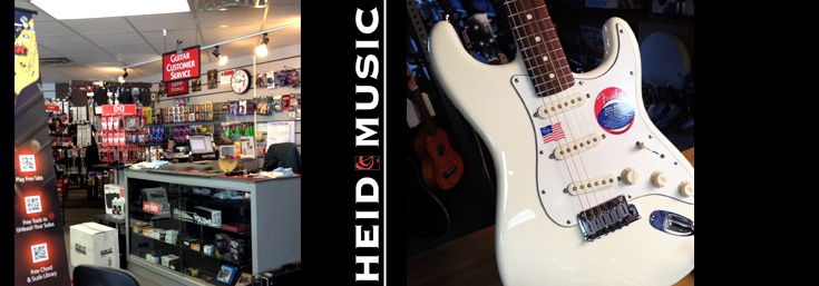 New & Used Guitars in Wisconsin Rapids & online at heidmusic.com