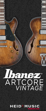 Ibanez Artcore Vintage and Artcore Expressionist Guitars now on sale at heidmusic.com