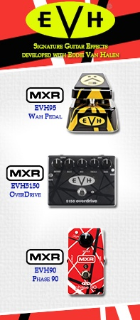 Van Halen MXR guitar effects pedals are now at heidmusic.com!