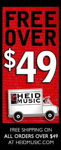 Free Shipping at heidmusic.com on all orders over $49!