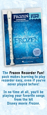 Leanr your favorite Frozen Songs on the Recorder!