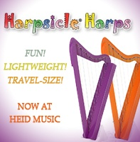 Harpsicle Travel Harps are at heidmusic.com