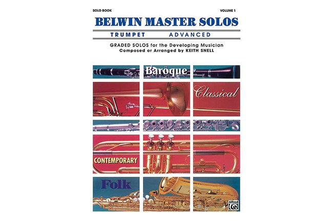 Belwin Master Solos Trumpet Advanced 1