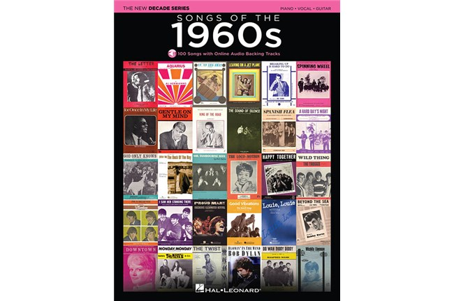 Songs of the 1960s New Decade Series PVG Book