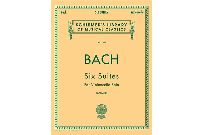 2311S01, Six Suites Cello, Bach, F Gai