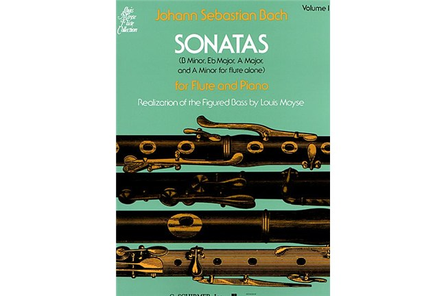 J.S. Bach Sonatas for Flute and Piano volume 1 heid music