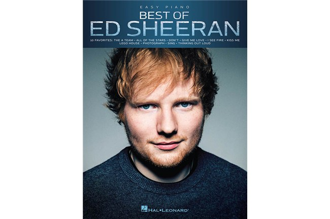 Best of Ed Sheeran Easy Piano Sheet Music Book