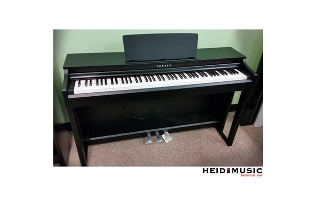 yamaha clp 525 clavinova digital piano rental return heid music wisconsin. Black Bedroom Furniture Sets. Home Design Ideas