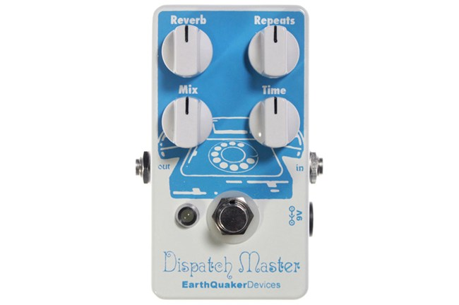 EarthQuaker Dispatch Master Effects Pedal Heid Music
