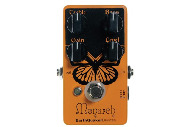 Earthquaker Monarch Overdrive Pedal