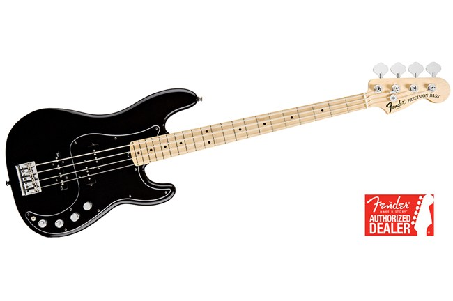 Fender American Deluxe Black PBass Heid Music