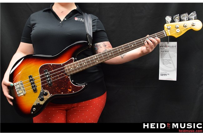 Fender '60 Jazz Bass Lacquer