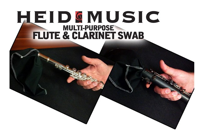 Flute and Clarinet Handkerchief Swab