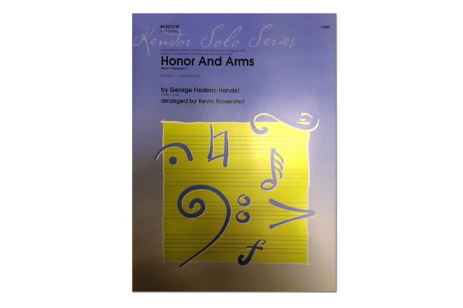 "Honor & and Arms (From ""Samson"") for Baritone 12885"