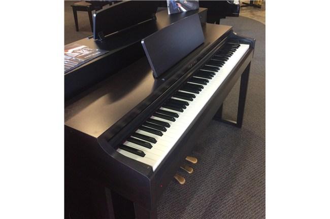 used yamaha clp 525 clavinova digital piano rosewood heid music. Black Bedroom Furniture Sets. Home Design Ideas