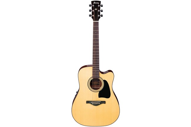 Ibanez AW50ECE Acoustic Guitar Heid Music