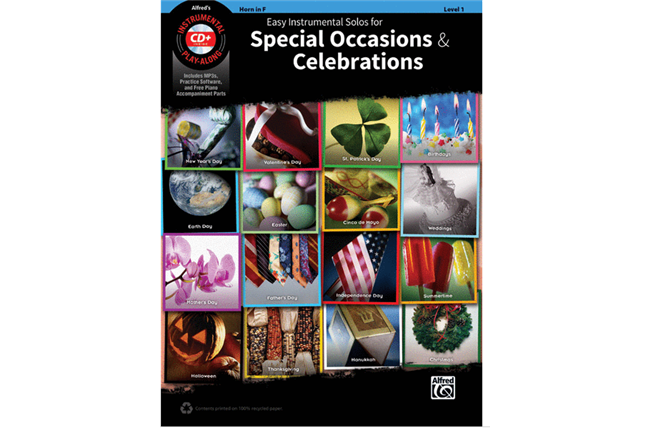 Easy Instrumental Solos for Special Occasions & Celebrations (Horn)