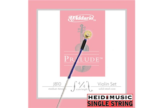 D'addario Prelude J810 J811 J812 J813 J814 single violin string