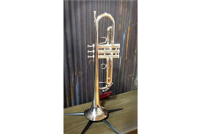 Jupiter 1100s Silver Step Up Trumpet Floor Model Heid