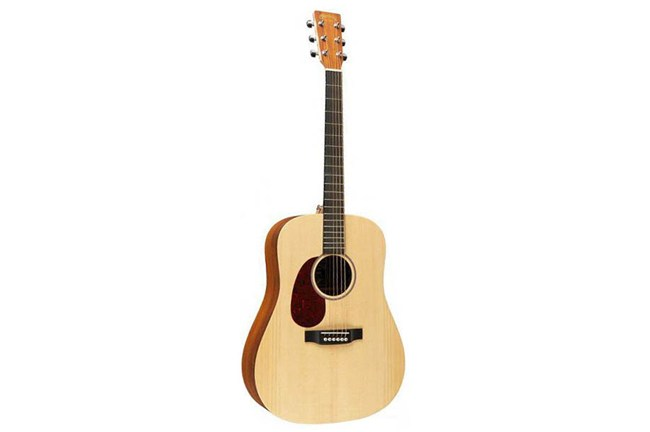 Martin DX1KAE Acoustic-Electric Guitar (Left Handed) front