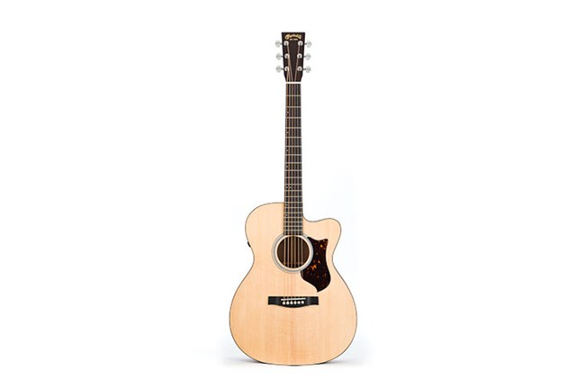 Martin acoustic guitar electric OMCPA4 heidmusic