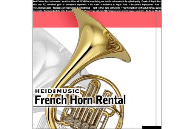 French Horn Rental Online - Heid Music Plan