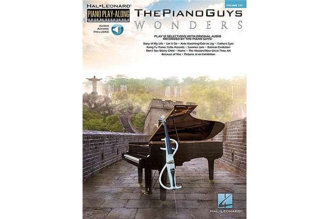 The Piano Guys - Wonders - Piano Play-Along Volume 131