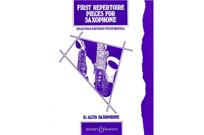 First Repertoire Pieces for Alto Saxophone Sax WSMA Solo 3421B8 Class B