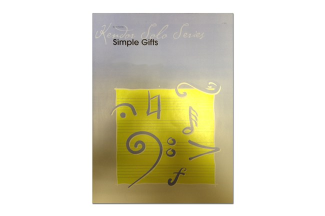 Simple Gifts Trombone Solo 4311B9