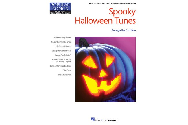 Spooky Halloween Tunes for Piano arr Fred Kern